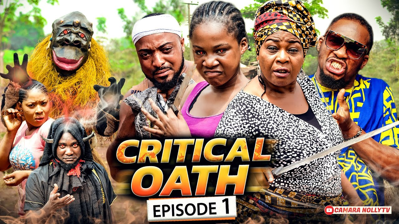 Download CRITICAL OATH EPISODE 1 (New Movie) Nkechi Nweje/Mercy Kenneth 2021 Latest Nigerian Nollywood Movie