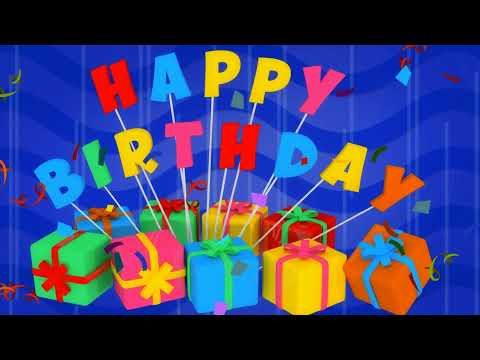 Happy birthday wishes video free download
