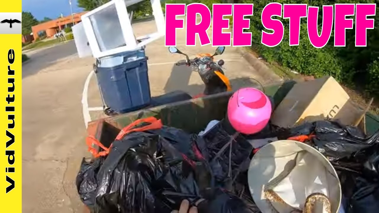 dumpster diving for free