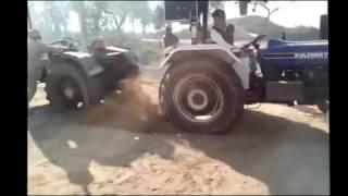 Farmtrac 60 hp Vs HMT 5022 Tractor Tochan Open Challenge