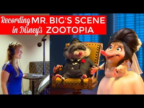 Disney Voice Recording Session: Zootopia's Icing  with Maurice Lamarche