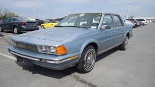 1986 Buick Century Limited Start Up, Exhaust, In Depth Tour, and Short Drive