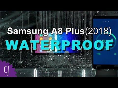 hot sale online be302 8a323 Samsung Galaxy A8 Plus (2018) Waterproof Test