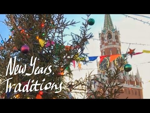 Russian New Years Traditions - YouTube