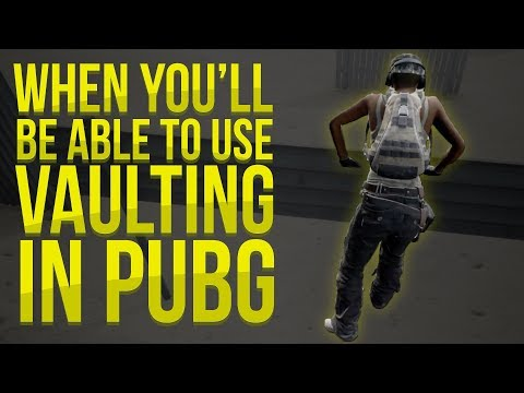 When You'll Be Able To Use Vaulting In PUBG & Blue Zone Changes