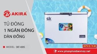 Tủ Đông 1 Ngăn Sumikura SKF-400S | Dung Tích 400 Lít