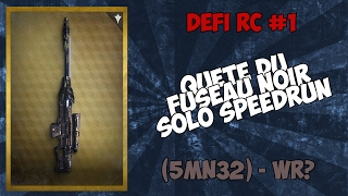 Black Spindle Speedrun Solo (5mn32) - Défi RC #1