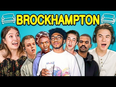 TEENS REACT TO BROCKHAMPTON (ft. Laurie Hernandez)