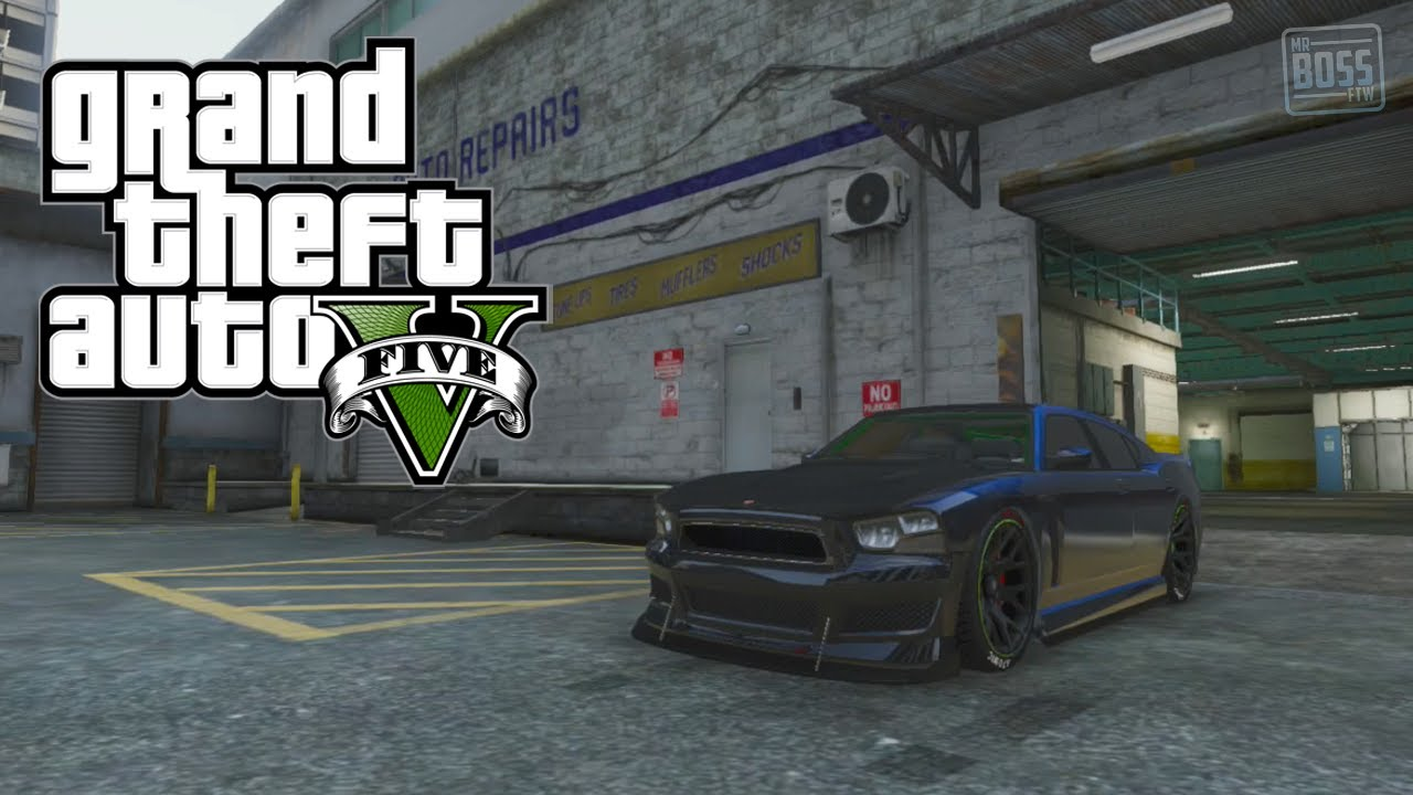 Gta Online Get Franklin S Car Custom Bravado Buffalo Tutorial