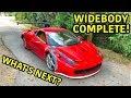 Building A Widebody Ferrari 458 Part 3