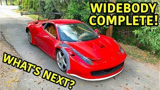 Building A Widebody Ferrari 458 Part 3