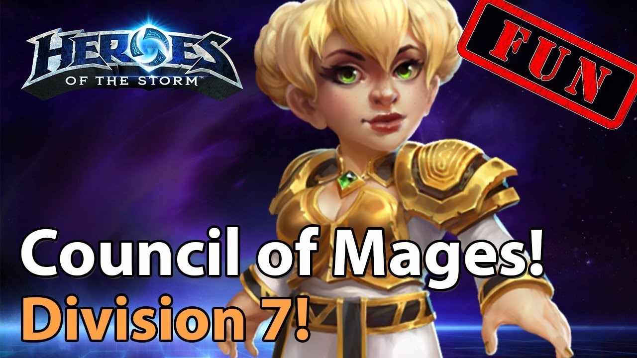 ► Heroes of the Storm: Magnificent Mages in Division 7 - Heroes Lounge