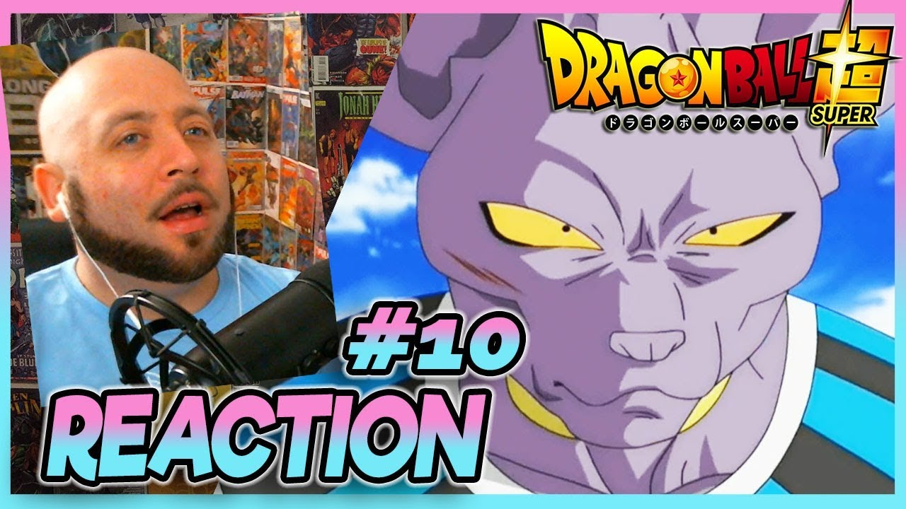 "Download Dragon Ball Super Episode 10 REACTION ""The Power Of A Super Saiyan God!"""