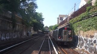 ᴴᴰ Rare: R1 Fan trip RFW (Drivers Point of view) Coney Island to Bedford Park Blvd [2014 fan trip]