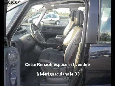 renault espace occasion visible merignac pr sent e par renault cap services youtube. Black Bedroom Furniture Sets. Home Design Ideas