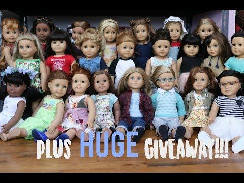 All My AG Dolls!  (+ HUGE GIVEAWAY!!)