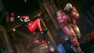 Batman: Arkham Knight - Harley betrays her gang (character swap mod)