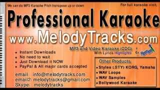 Pakistani Karaoke Dil ke arman aansoun | Salma Agha | www.MelodyTracks.com