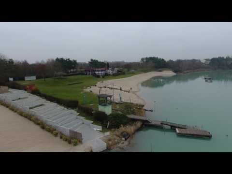 Lake in Rodgau, Germany filmed by phantom 4