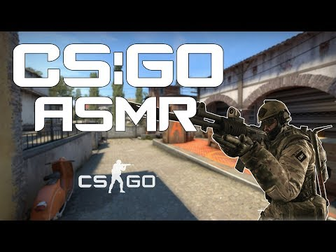 ASMR Gaming - CsGO and Gum chewing - [Episode 1]