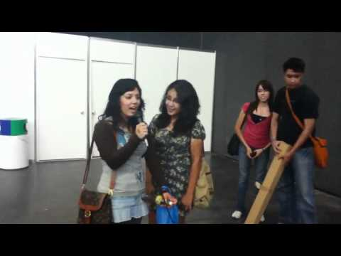 Expo comic 2011 karaoke Karen Dayan Lopez Chin