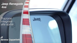 Jeep Renegade 4xe a Ruote in Pista