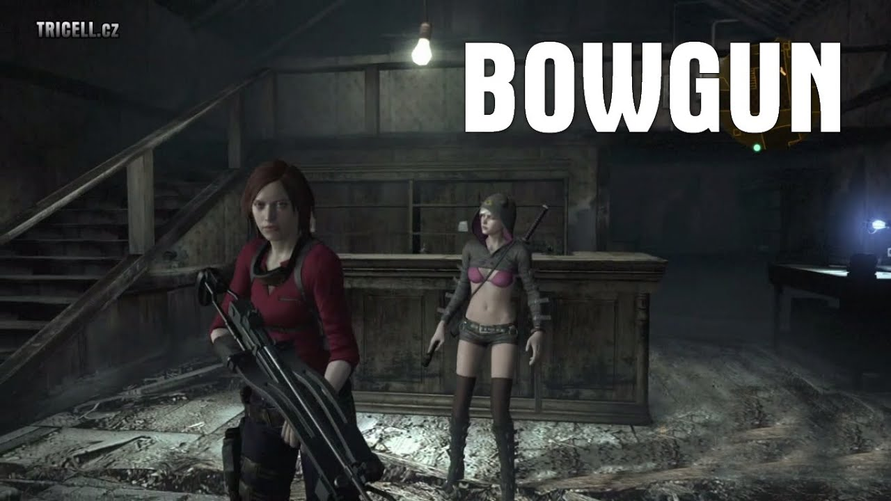 Resident Evil Revelations 2 Bowgun Gameplay Extra Weapon