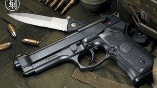 обзор страйкбольного пистолета Beretta 92fs a