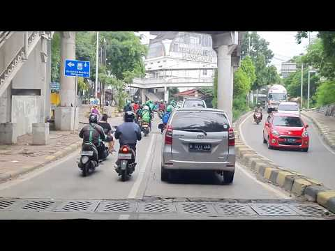 Driving in Jakarta - Indonesia | Pramuka to Pancoran Januari 2020