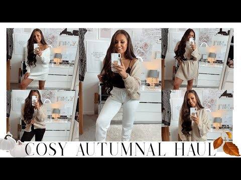 Autumn/Fall Cosy PLT Clothing Haul   Loungewear, Cosy Clothes, Shoes, Knitwear