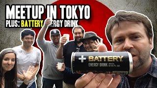 Tokyo Meetup: Magnolia Bakery & Battery Energy Drink