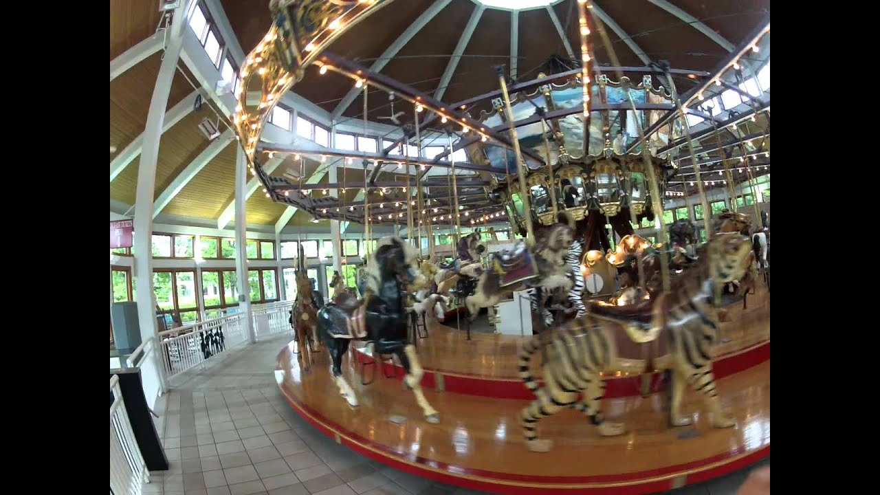 Chattanooga Coolidge Park Carousel Hd Youtube