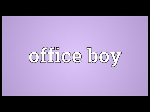 Office Boy Meaning - YT