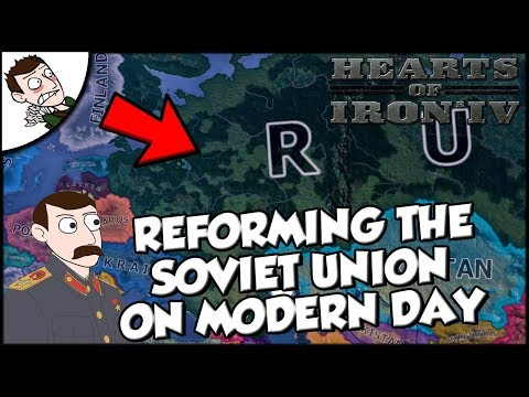 Hearts of Iron 4 HOI4 Soviet Union Returns on the Modern Day Mod