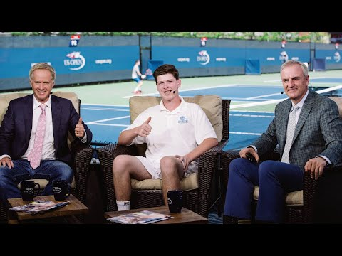 Fairfield County Native, 16, Makes Splash On Tennis Scene, TV, Social Media