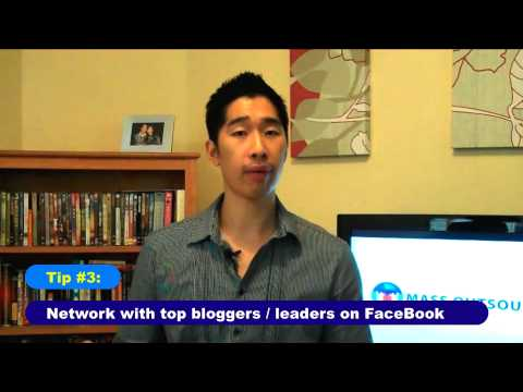 Three Powerful FaceBook Traffic Generation Tips