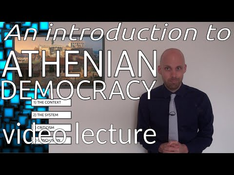Athenian Democracy - An Introduction