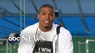 Cam newton talks new show 'all in with cam newton'