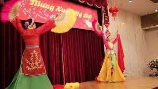 ベトナム舞踊ベトナム総領事館のテトのパーティー