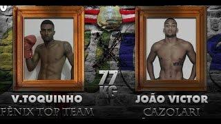 PORTUARIOS STADIUM - Vanderlei Toquinho (FTT) X João Victor (Cazolari) 77KG