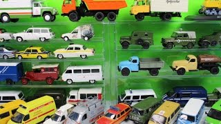A lot of cars: first aid, police and other
