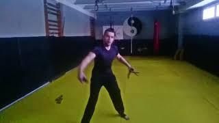 Single sword katana freestyle training