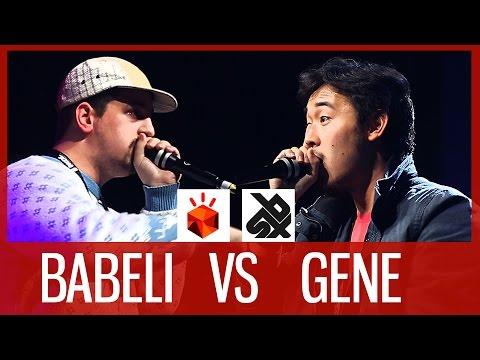 BABELI vs GENE  |  Grand Beatbox SHOWCASE Battle 2016  |  SMALL FINAL