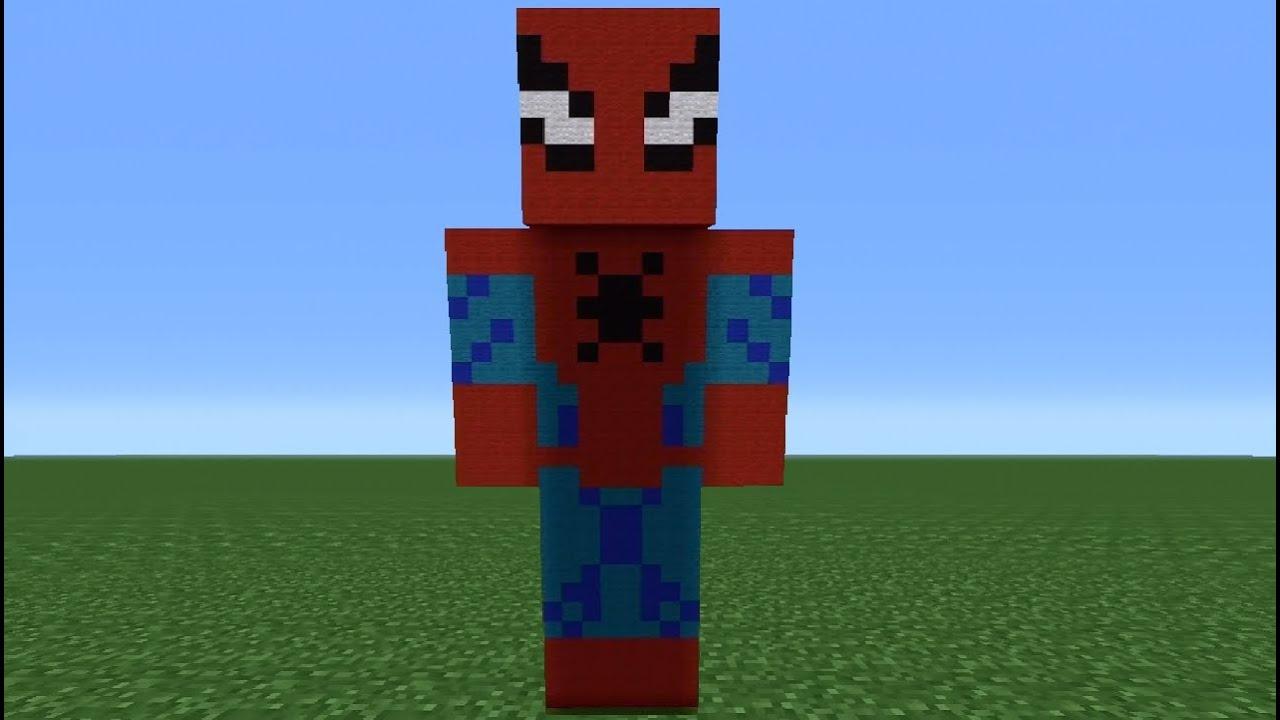 Spider Statue Minecraft Minecraft Tutor...
