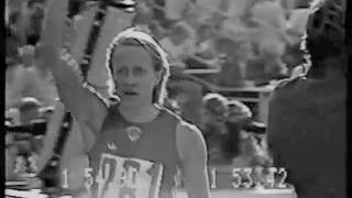 women's 800 m in 1.53,43 at the 1980 Olympics Games!.flv