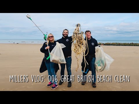 Fighting Plastic Waste With Fish And Chips - Great British Beach Clean