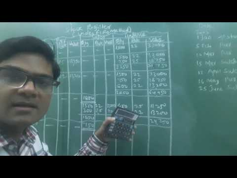 Inventory Valuation ( Stock valuation ) Lecture - 1 by Rakesh Sir