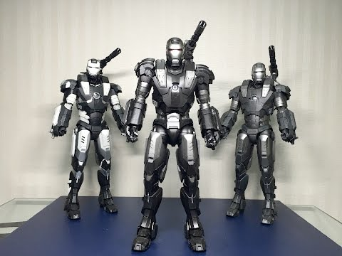 DIECAST War Machine Mark 1 by Hot Toys