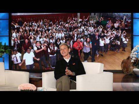 Ellen Surprises Harlem School with New Learning Lab