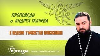 о. Андрей Ткачев проповедь от 05.03.17 в Неделю Торжества Православия